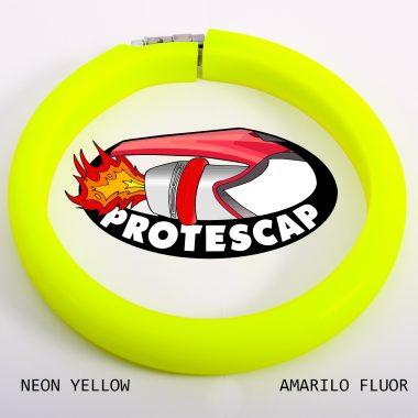 Protector de tubo de escape Protescap amarillo