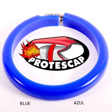 Protector de tubo de escape Protescap azul