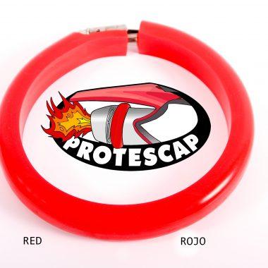 Protector de tubo de escape Protescap ROSA RED