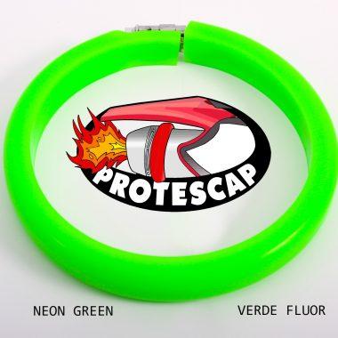 Protector de tubo de escape Protescap VERDE FLUOR NEON